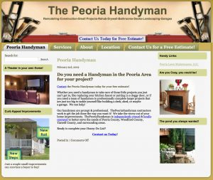 The Peoria Handyman