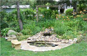 Building Ponds, or providing beautiful creek rocks.